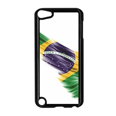 Flag Of Brazil Apple Ipod Touch 5 Case (black) by Sapixe