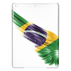 Flag Of Brazil Ipad Air Hardshell Cases by Sapixe