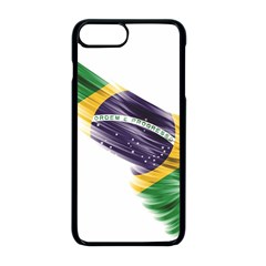 Flag Of Brazil Apple Iphone 8 Plus Seamless Case (black)