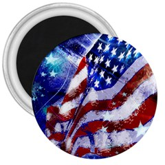 Flag Usa United States Of America Images Independence Day 3  Magnets by Sapixe