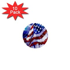Flag Usa United States Of America Images Independence Day 1  Mini Magnet (10 Pack)