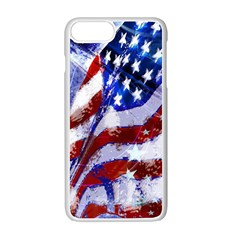 Flag Usa United States Of America Images Independence Day Apple Iphone 7 Plus Seamless Case (white) by Sapixe