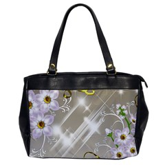 Floral Delight Office Handbags by Sapixe