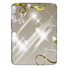 Floral Delight Samsung Galaxy Tab 3 (10 1 ) P5200 Hardshell Case