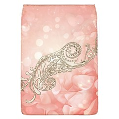 Wonderful Soft Flowers With Floral Elements Flap Covers (l)