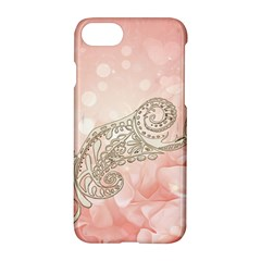 Wonderful Soft Flowers With Floral Elements Apple Iphone 7 Hardshell Case by FantasyWorld7