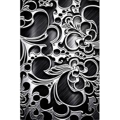 Floral High Contrast Pattern 5 5  X 8 5  Notebooks by Sapixe