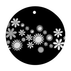 Flower Power Flowers Ornament Ornament (round)