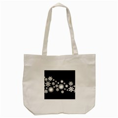 Flower Power Flowers Ornament Tote Bag (cream) by Sapixe