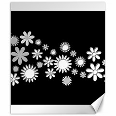 Flower Power Flowers Ornament Canvas 20  X 24   by Sapixe