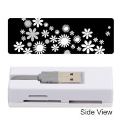 Flower Power Flowers Ornament Memory Card Reader (stick)  by Sapixe