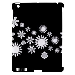 Flower Power Flowers Ornament Apple Ipad 3/4 Hardshell Case (compatible With Smart Cover) by Sapixe