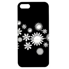 Flower Power Flowers Ornament Apple Iphone 5 Hardshell Case With Stand by Sapixe