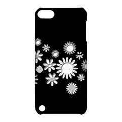 Flower Power Flowers Ornament Apple Ipod Touch 5 Hardshell Case With Stand by Sapixe
