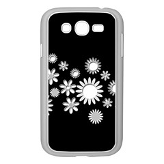 Flower Power Flowers Ornament Samsung Galaxy Grand Duos I9082 Case (white) by Sapixe