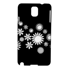 Flower Power Flowers Ornament Samsung Galaxy Note 3 N9005 Hardshell Case by Sapixe