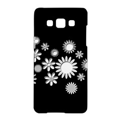 Flower Power Flowers Ornament Samsung Galaxy A5 Hardshell Case  by Sapixe