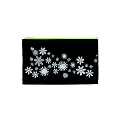 Flower Power Flowers Ornament Cosmetic Bag (xs) by Sapixe