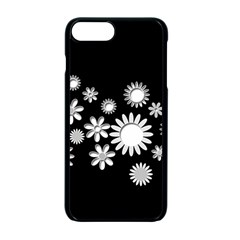 Flower Power Flowers Ornament Apple Iphone 7 Plus Seamless Case (black) by Sapixe