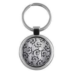 Floral Key Chains (round)