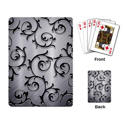 Floral Playing Card