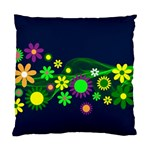 Flower Power Flowers Ornament Standard Cushion Case (Two Sides) Back