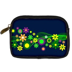 Flower Power Flowers Ornament Digital Camera Cases by Sapixe