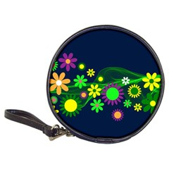 Flower Power Flowers Ornament Classic 20-cd Wallets by Sapixe
