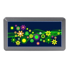 Flower Power Flowers Ornament Memory Card Reader (mini) by Sapixe