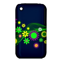 Flower Power Flowers Ornament Iphone 3s/3gs by Sapixe