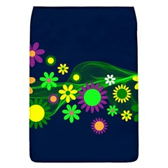 Flower Power Flowers Ornament Flap Covers (l)  by Sapixe
