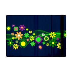 Flower Power Flowers Ornament Ipad Mini 2 Flip Cases by Sapixe