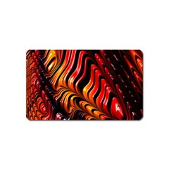 Fractal Mathematics Abstract Magnet (name Card)