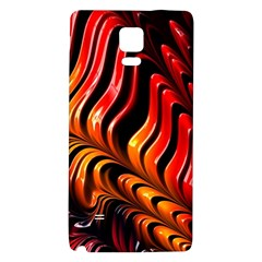 Fractal Mathematics Abstract Galaxy Note 4 Back Case by Sapixe