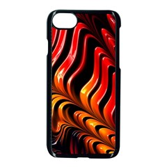 Fractal Mathematics Abstract Apple Iphone 8 Seamless Case (black)