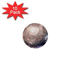 Galaxy Star Planet 1  Mini Buttons (10 Pack)