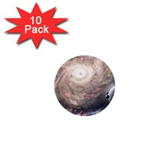 Galaxy Star Planet 1  Mini Magnet (10 Pack)