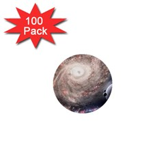 Galaxy Star Planet 1  Mini Buttons (100 Pack)  by Sapixe