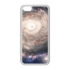 Galaxy Star Planet Apple Iphone 5c Seamless Case (white) by Sapixe