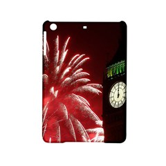 Fireworks Explode Behind The Houses Of Parliament And Big Ben On The River Thames During New Year's Ipad Mini 2 Hardshell Cases by Sapixe