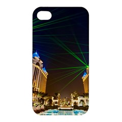 Galaxy Hotel Macau Cotai Laser Beams At Night Apple Iphone 4/4s Hardshell Case