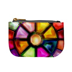 Glass Colorful Stained Glass Mini Coin Purses by Sapixe