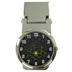 Green Android Honeycomb Gree Money Clip Watches by Sapixe
