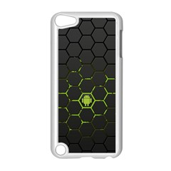 Green Android Honeycomb Gree Apple Ipod Touch 5 Case (white) by Sapixe