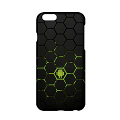Green Android Honeycomb Gree Apple Iphone 6/6s Hardshell Case by Sapixe