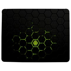 Green Android Honeycomb Gree Jigsaw Puzzle Photo Stand (rectangular) by Sapixe