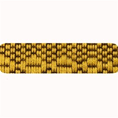 Golden Pattern Fabric Large Bar Mats by Sapixe