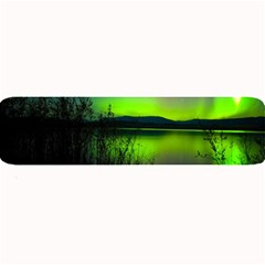 Green Northern Lights Canada Large Bar Mats by Sapixe
