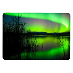 Green Northern Lights Canada Samsung Galaxy Tab 8 9  P7300 Flip Case by Sapixe