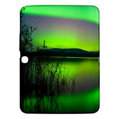 Green Northern Lights Canada Samsung Galaxy Tab 3 (10 1 ) P5200 Hardshell Case  by Sapixe